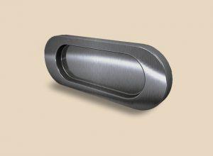 Ручка серебро глянец овальная Италия Краснодар