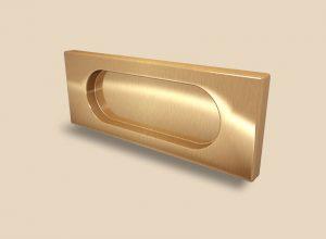 Ручка Золото глянец прямоугольная Италия Краснодар