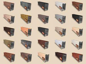 """Алюминиевый ламинированный профиль """"HOLZ"""" для шкафов купе и межкомнатных перегородок Более 100 цветов Краснодар"""