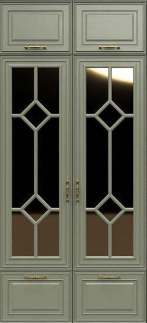 Фасад с фигурной филенкой эмаль Краснодар