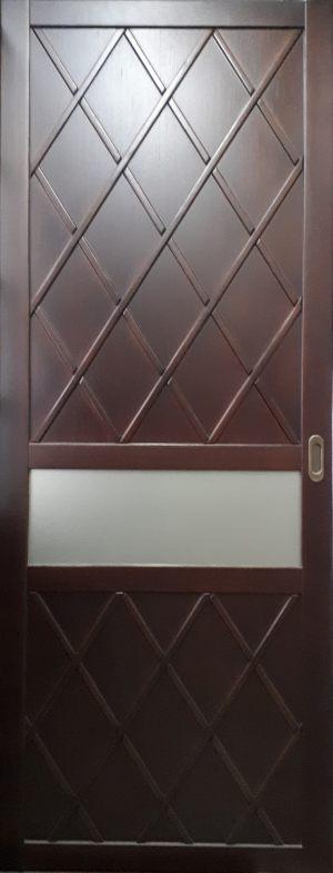 Вставка в дверь с фигурной филенкой Краснодар