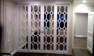 Двери с фигурной филенкой, эмаль Краснодар