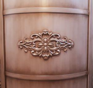 Вставка радиусная с декоративной накладкой эмаль с патиной Краснодар