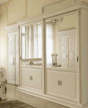 Шкаф купе с филенкой и декоративной накладкой эмаль Краснодар